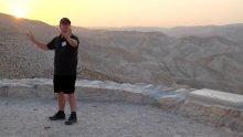 Dr John Dickson at Wadi Qelt